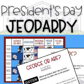 Presidents Day Jeopardy