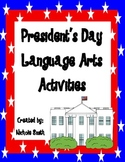 President's Day Language Arts Activities