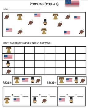 President's Day Language Arts and Math Activities