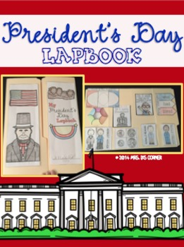 President's Day Lapbook { with 11 foldables }