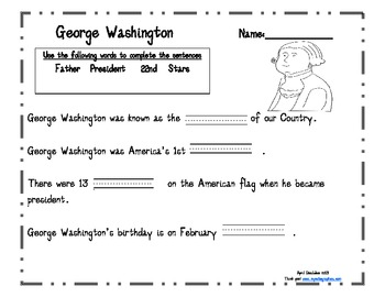 Presidents' Day Literacy Fun