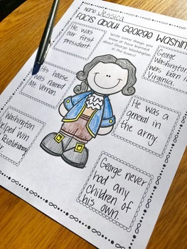 Presidents' Day Literacy Pack!