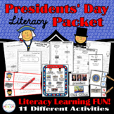 Presidents' Day Literacy Packet