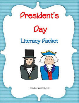 President's Day Literacy Packet