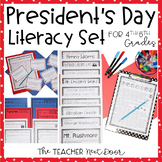 President's Day Literacy Set | President's Day Activities