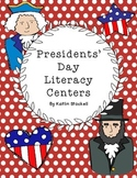 Presidents' Day Literacy Center Activities!