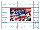 President's Day Long and Short Vowel Game Boards