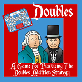 Presidents Day Math - A Doubles Strategy Addition Game - 3