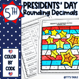 Presidents' Day Math Activity | Color by Code
