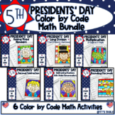 Presidents' Day Math Bundle | Color by Code