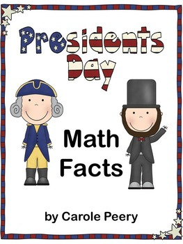 Presidents' Day Math Facts