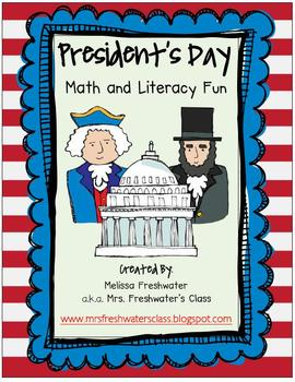 President's Day Math & Literacy Fun
