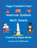 President's Day Math Sheets