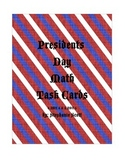Presidents Day Math Task Cards