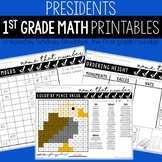 President's Day Math Worksheets