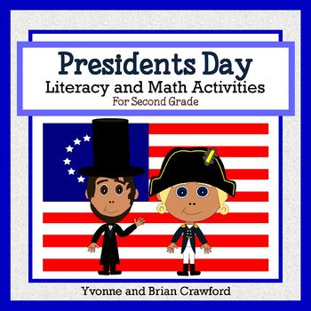 Presidents Day Math and Literacy Activities Second Grade Common Core
