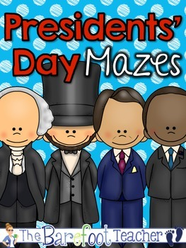 Presidents Day Mazes
