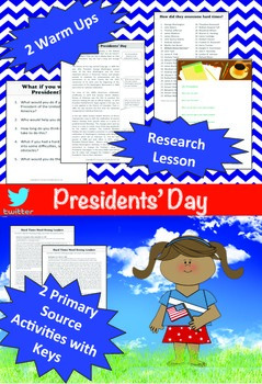 President's Day (Middle School) Full Day Lesson