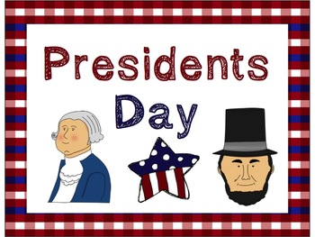 Presidents Day Mimio Lesson and Three Writing Prompts