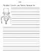 Presidents Day PPT Lesson and Three Writing Prompts