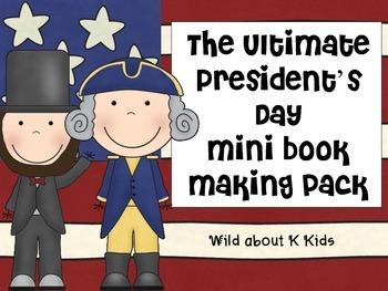 President's Day Mini Book Pack