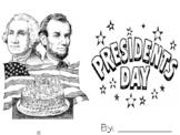 President's Day Book: Washington, Lincoln & Trump