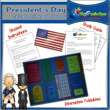 President's Day Mini-Lapbook/Interactive Notebook
