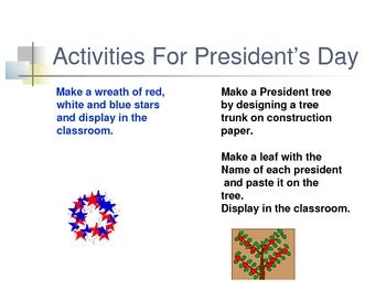 President's Day-Mini-Lesson