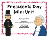 President's Day Mini Unit: Primary Friendly