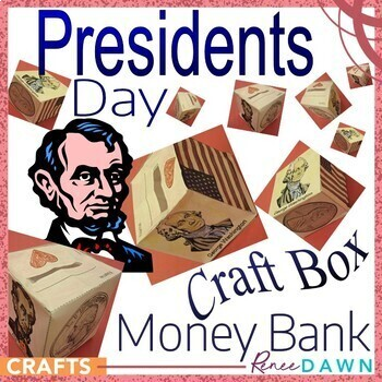 Presidents Day Money Bank