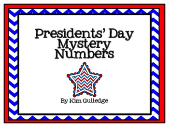 Presidents Day Mystery Number - Math and U.S. History