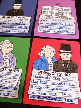 Presidents Day Writing Activities (NO PREP Crafts)