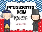 Presidents' Day Non-Fiction Flip Book Kit