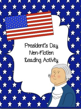 President's Day Non-Fiction Reading Activity