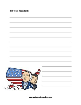President's Day Notebooking Pages
