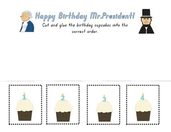 President's Day Number Worksheet