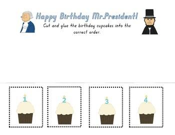 President's Day Number Worksheet