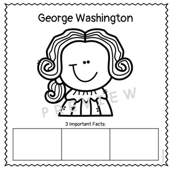 George Washington & Abraham Lincoln-Differentiated Reading & Comprehension pack!