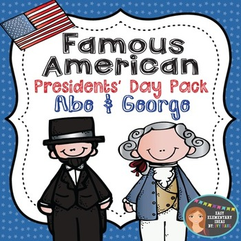 Presidents' Day Pack Abe Lincoln & George Washington {PowerPoint & Printables}