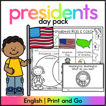 Presidents Day Pack - Presidents Day Booklet