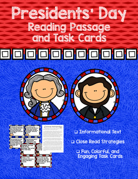 Presidents' Day Packet- Washington and Lincoln