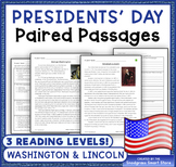 Presidents' Day: Paired Passages/Texts