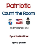 President's Day Patriotic Count the Room