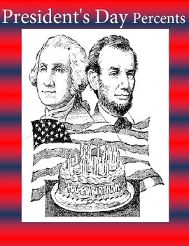 Presidents Day Percent Worksheets