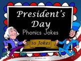 President's Day Phonics Jokes