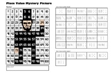 Presidents Day Place Value Math Mystery Picture - Abraham Lincoln - 11x17