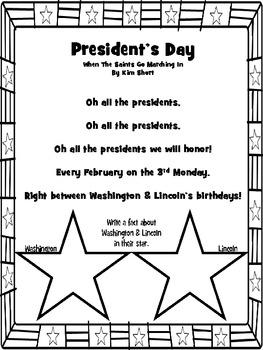 President's Day Poems