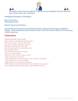 President's Day Poetry Lesson Plan