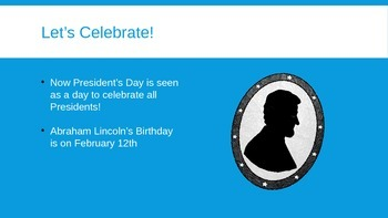 Presidents Day PowerPoint