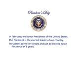 President's Day PowerPoint Presentation